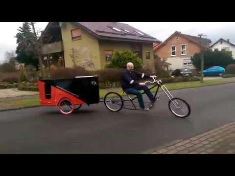 fahrradwohnwagen fahrradanh nger schlafwagen doovi. Black Bedroom Furniture Sets. Home Design Ideas