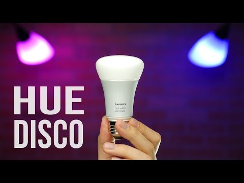 Philips Hue Disco – Make Your Lights Dance!