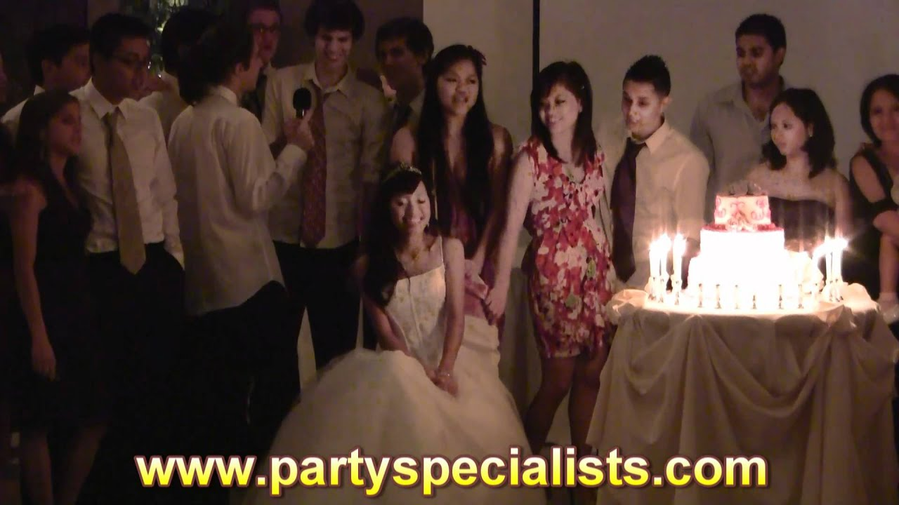 Party Specialists Inc Quot Filipino 18th Debut Youtube