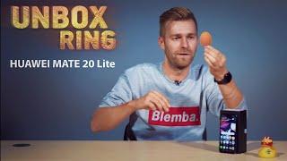 Vidutinės klasės Huawei | HUAWEI MATE 20 Lite | Unbox Ring apžvalga