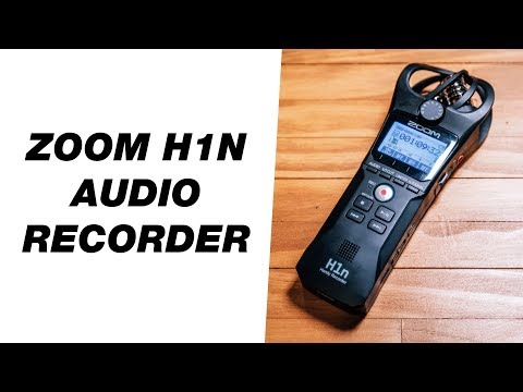 Budget Portable Audio Recorder for Video — Zoom H1n Handy Recorder