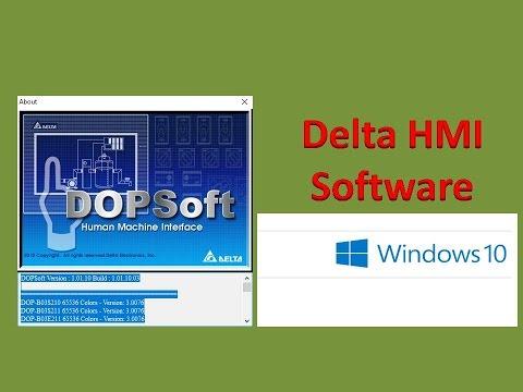 DELTA HMI SOFTWARE FOR WINDOWS 10