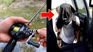 I GOT KIDNAPPED WHILE FISHING??? (You Won't Believe This)