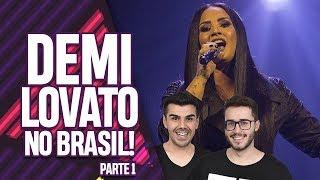 AQUECIMENTO PARA O SHOW DA TELL ME YOU LOVE ME WORLD TOUR DA DEMI LOVATO NO BRASIL! | Virou Festa