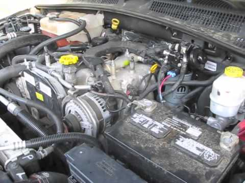 2005 Jeep Liberty Kj 2 8l Crd Running Poorly Youtube