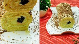 Успех обеспечен! Самый удачный рецепт рулета с фруктовым желе! | Appetitno.TV