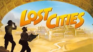Lost Cities Card Game by Reiner Knizia