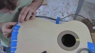 Build a Guitar, Part 9, Binding and Bridge