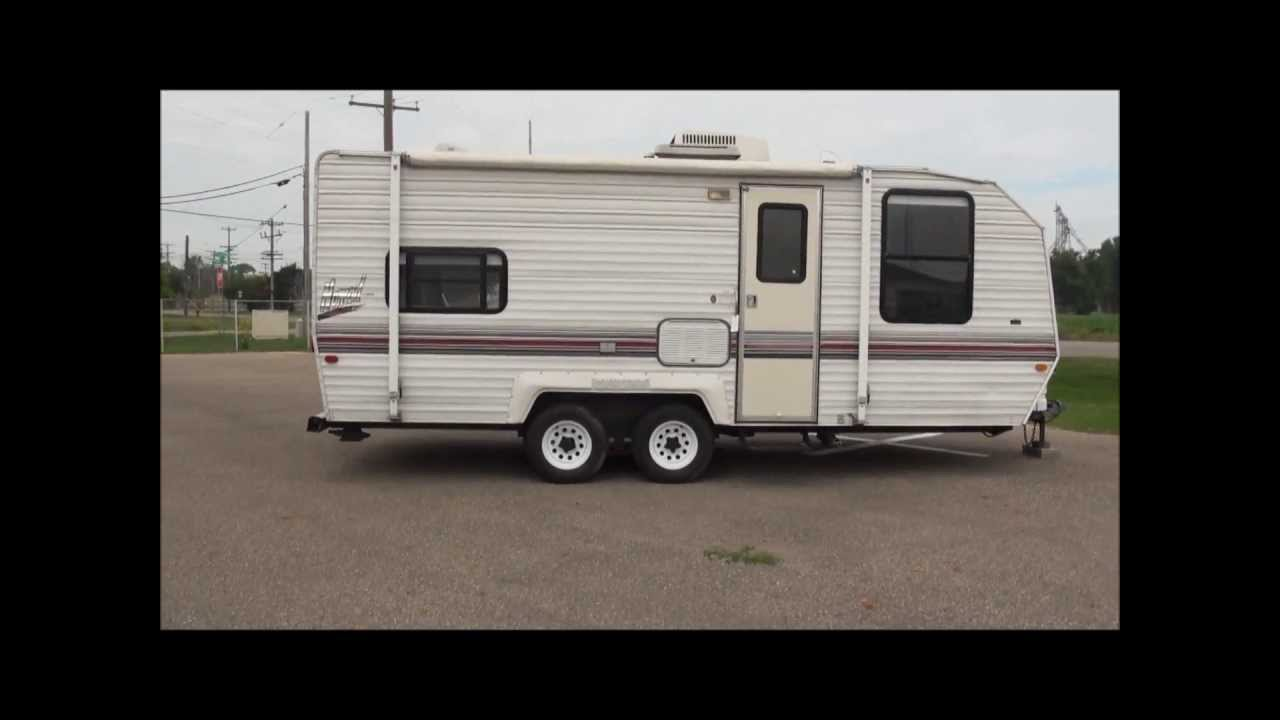 1994 Nomad Travel Trailer 22' self contained  http://www AuctioneersNow com