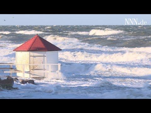 Turbulenter Start ins neue Jahr: Sturmflut an der Ostseeküste