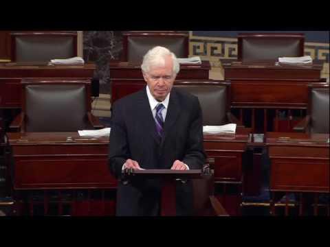 Chairman Cochran Encourages Senate to Adopt Clean, Short-Term Continuing Resolution