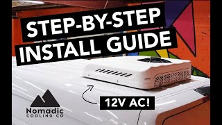 NOMADIC COOLING STEP-BY-STEP INSTALL GUIDE | SILENT EDITION | 12V AIR CONDITIONING FOR VANLIFE