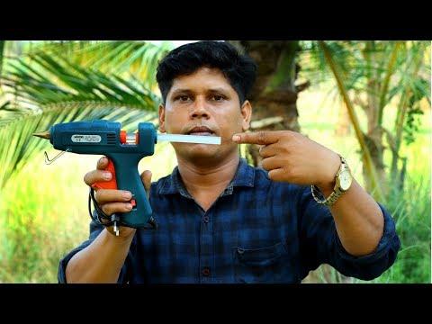 இது தான் க்ளு கன் | How to use Hot Glue Gun | Review In Tamil