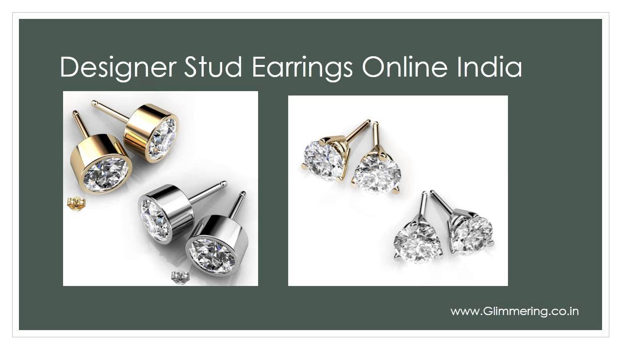 Swarovski Elements Fashion Stud Earrings Onlineat Low Price In India You