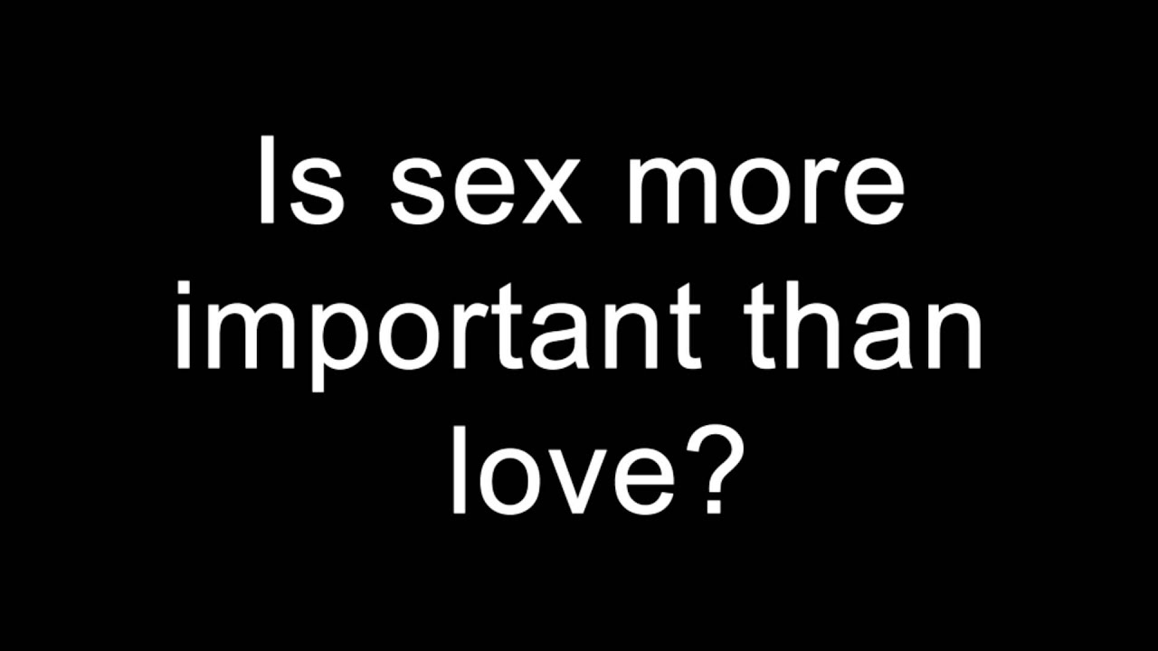 sex with more than one love