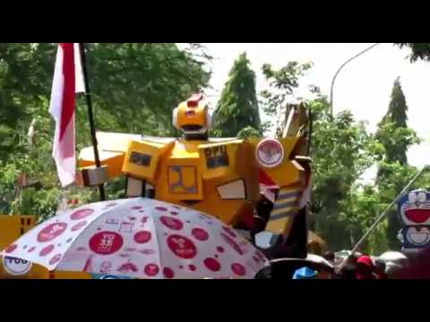 Karnaval HUT RI ke 72 Kabupaten Brebes 2017