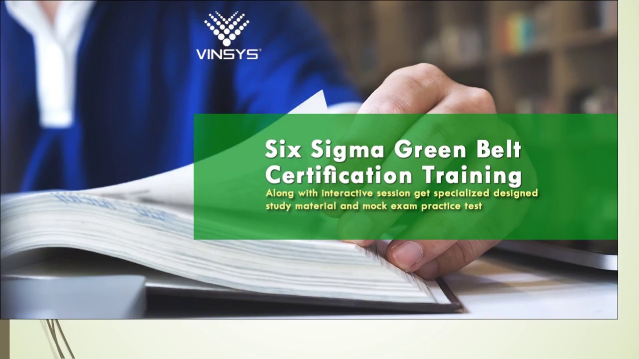 Six Sigma Certification In Delhi Youtube