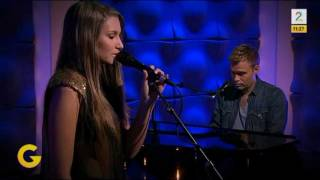 "Nora Foss Al-Jabri (16) singing ""Somewhere Over The Rainbow"" - LIVE - God Morgen Norge 2012"