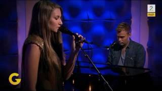 "Nora Foss Al-Jabri (16) singing ""Somewhere Over The Rainbow"" - LIVE - God Morgen Norge 2012"