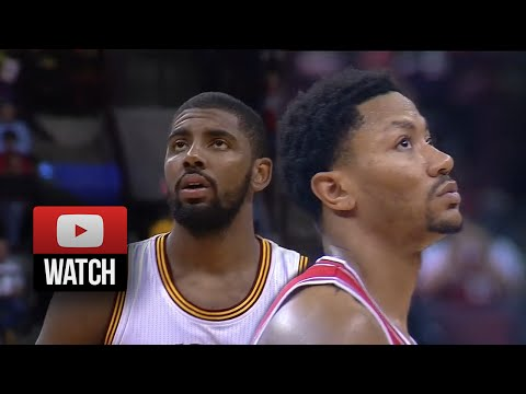 Kyrie Irving vs Derrick Rose EPIC PG Duel Highlights Cavaliers vs Bulls (2014.10.20)