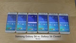 Samsung Galaxy S6 vs. Samsung Galaxy S6 Clones - Review