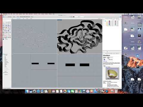 Extruding and Offsetting Drawings into 3D Models on Rhino ~ Odessa Conner