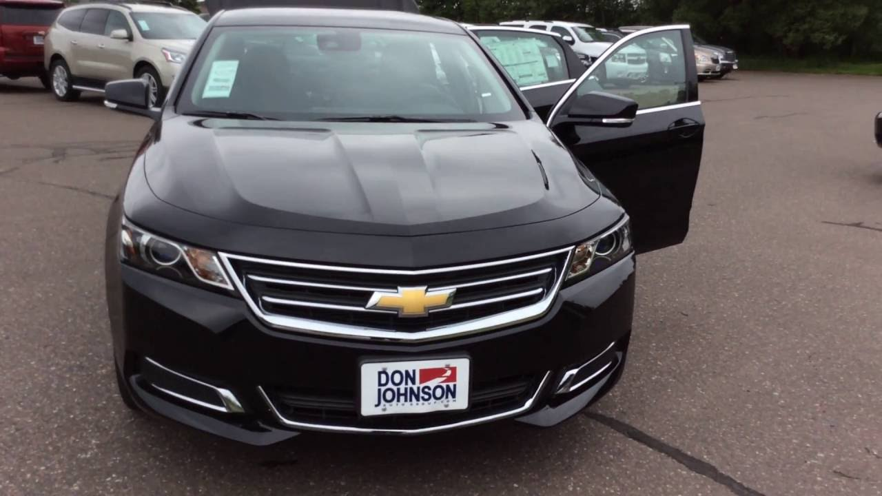 2016 chevrolet impala 2lt mosaic black at don johnson for Don johnson hayward motors