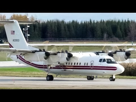 U.S Army Dash DHC-7 (DHC7) departing Montreal-Mirabel (YMX/CYMX)