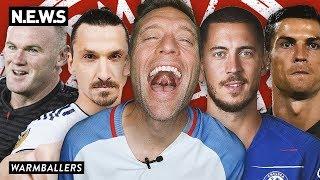Juventus, West Ham, Zlatan - GOOD! Man United, Barca, and Bayern - BAD!