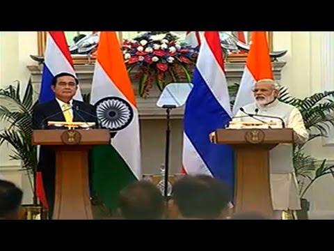 India, Thailand will together work in cyber security, narcotics and human trafficking: PM Modi