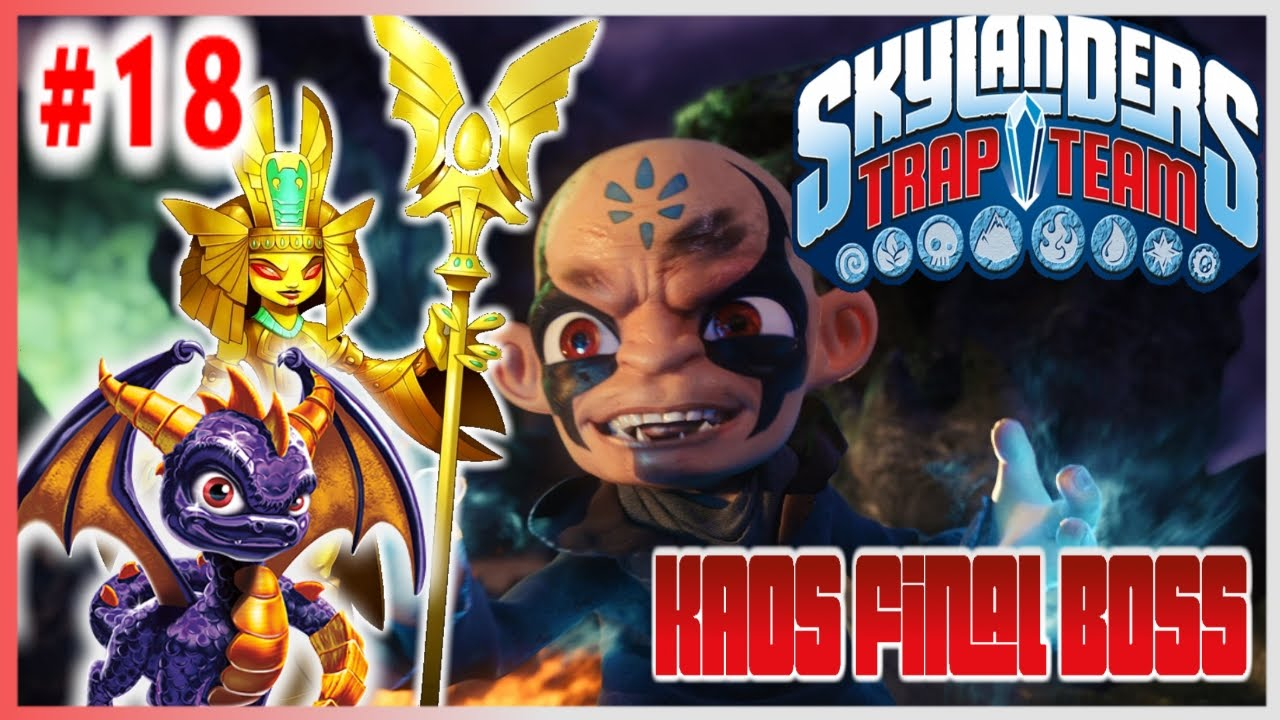 Skylanders Trap Team Wii - Playthrough Chapter 18: The ...