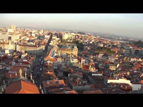 PORTO torre dos clérigos punkas 31 janeiro Palácio das Cardosas coliseu do porto