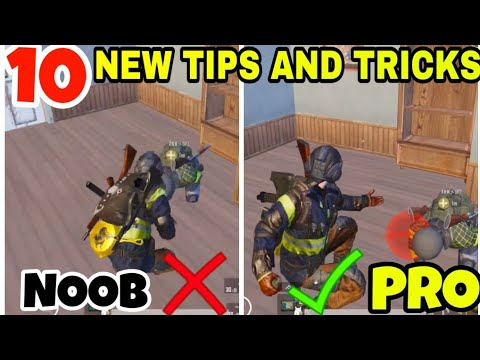 10 NEW TIPS AND TRICKS FOR PUBG MOBILE | PUBG MOBILE TIPS AND TRICKS