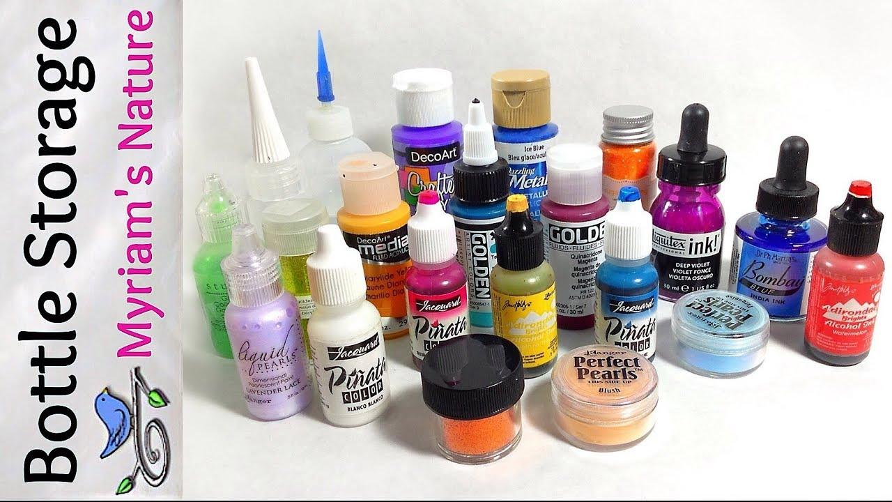 44 Low Cost Organizing Alcohol Inks Acrylics Etc Dollar Tree Haul Fluid Art Supplies