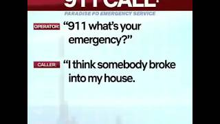 Paradise pd 911 call