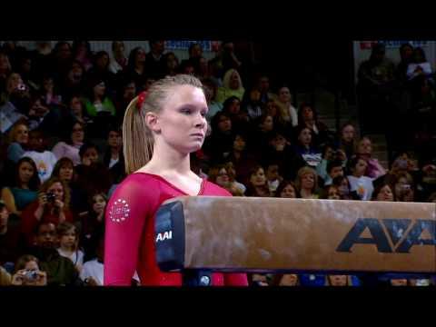 Bridget Sloan - Balance Beam - 2009 Tyson American Cup - NBC