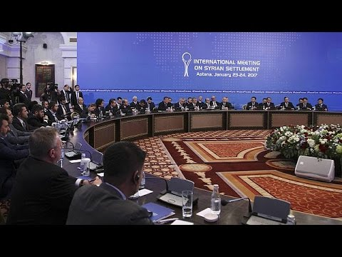 Syria peace talks start in Kazakhstan