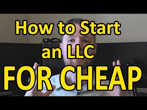 How to Start an LLC for Cheap