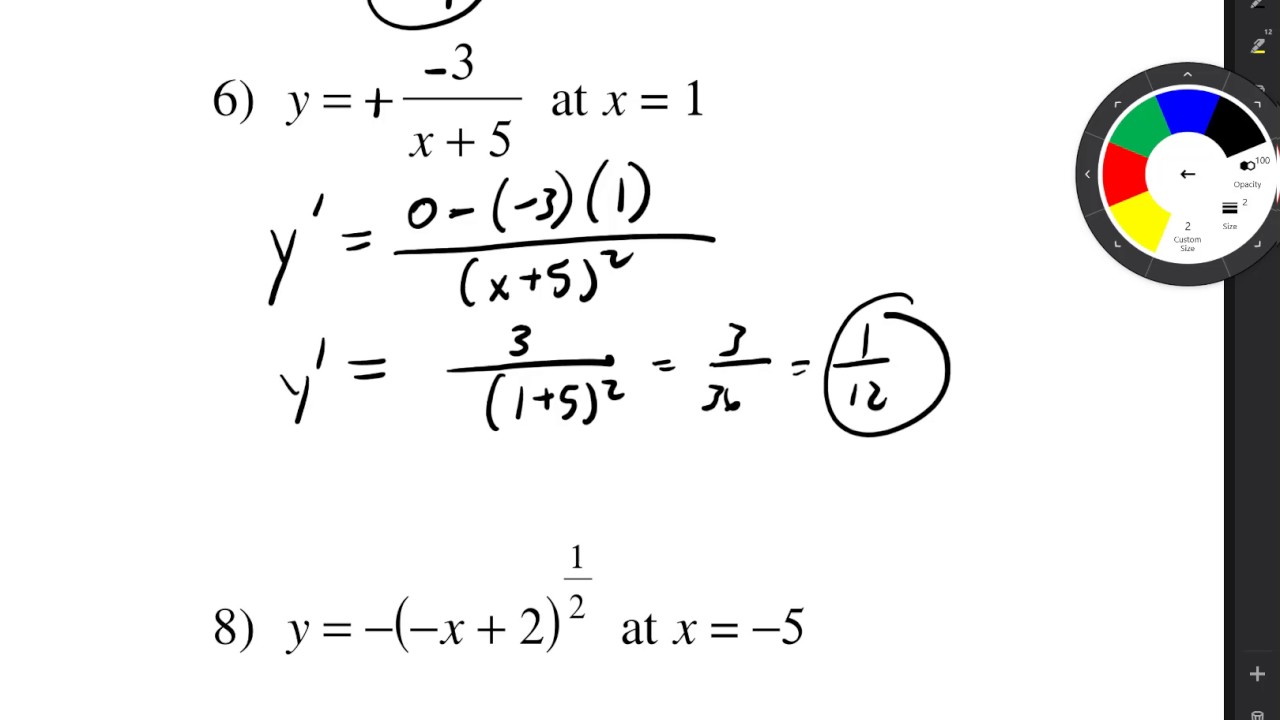 kutasoftware slope at a given value