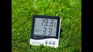 아쿠바 디지털 온습도계 CS-201(1분사용법)