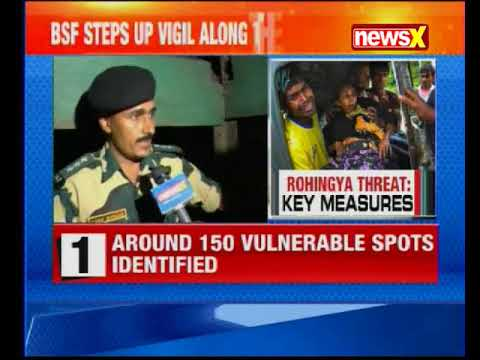 NewsX ground report: Centre issues fresh Rohingya alert; Bengal border districts on alert