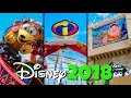 Top 10 New Disney Rides & Attractions Added in 2018 - Disney World & Disneyland