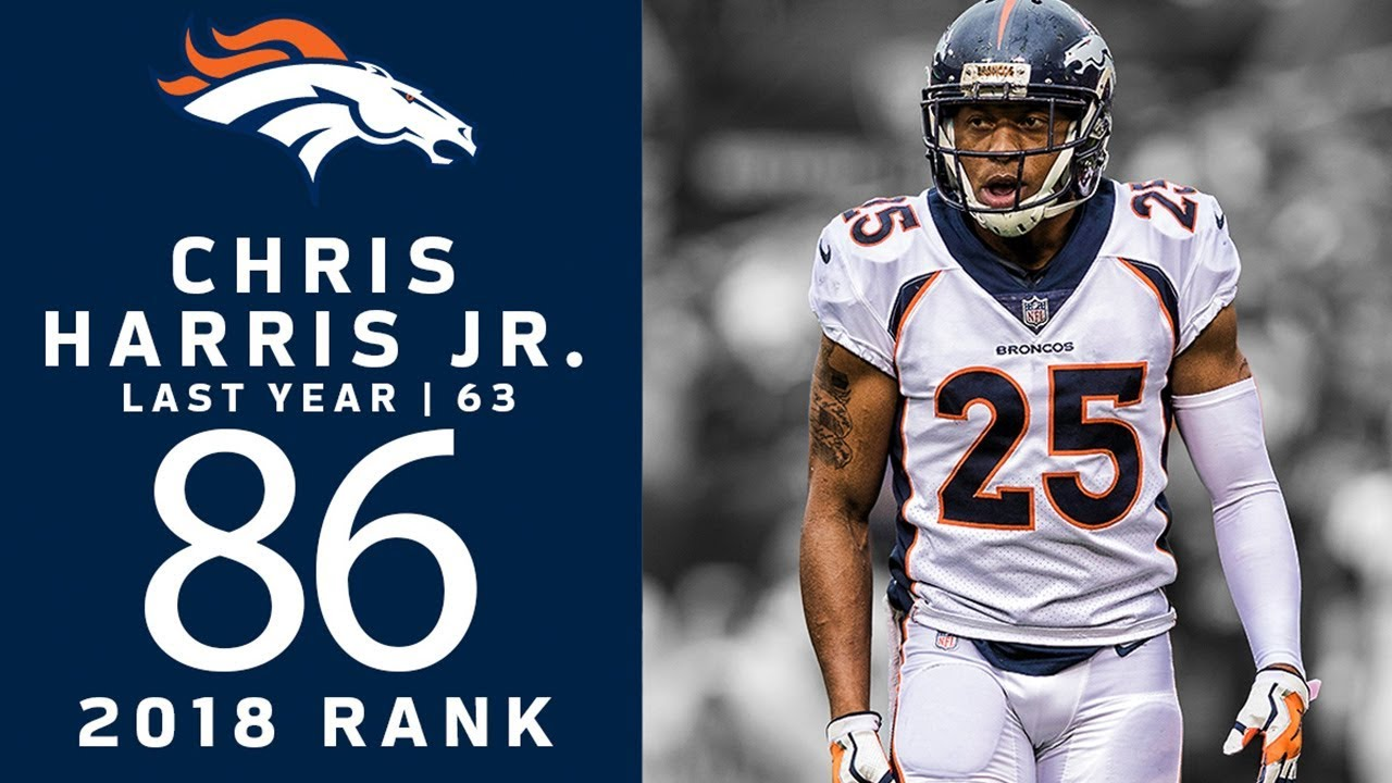 86 Chris Harris Jr Cb Broncos Top 100 Players Of 2018 Nfl