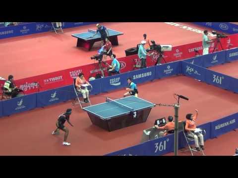 Padasak Tanviriyavechakul vs. Sharath Kamal Achanta, 2014 Asian Games