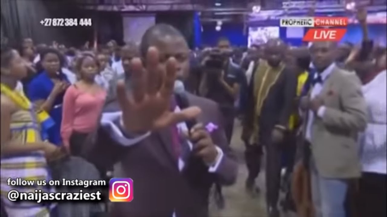 Download Prophet Bushiri Delivers Woman From Hearing Demon - Major 1