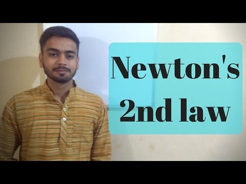 Newton's Second Law of Motion In Hindi | Inside Out Physics