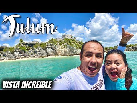 Tour TULUM desde el mar 😱 Snorkel WOW 😲 todo en 1 DIA ✅ | TODO INCLUIDO 🔥 | Cancun y Riviera Maya 😍