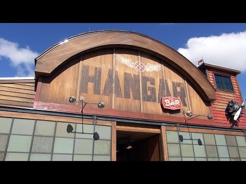Jock Lindsey's Hangar Bar at Disney Springs: Grand Opening, Full Tour; Food & Drink - Indiana Jones