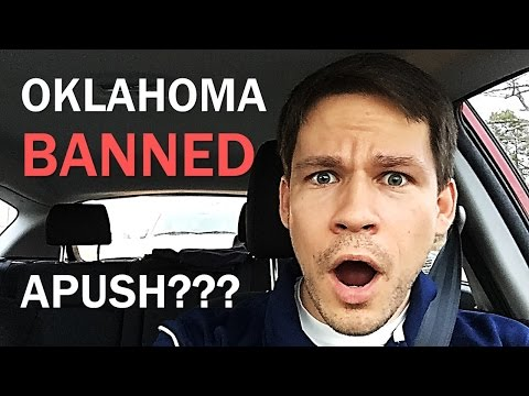 Oklahoma Banned APUSH??? (Drive Home History #10)