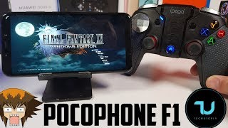 Final Fantasy 15 Android PC Gameplay/Gloud Games! Pocophone F1 /xv